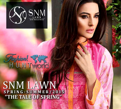 SNM Lawn Spring - Summer 2015 Collection
