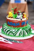 2 tiers 3D Cake