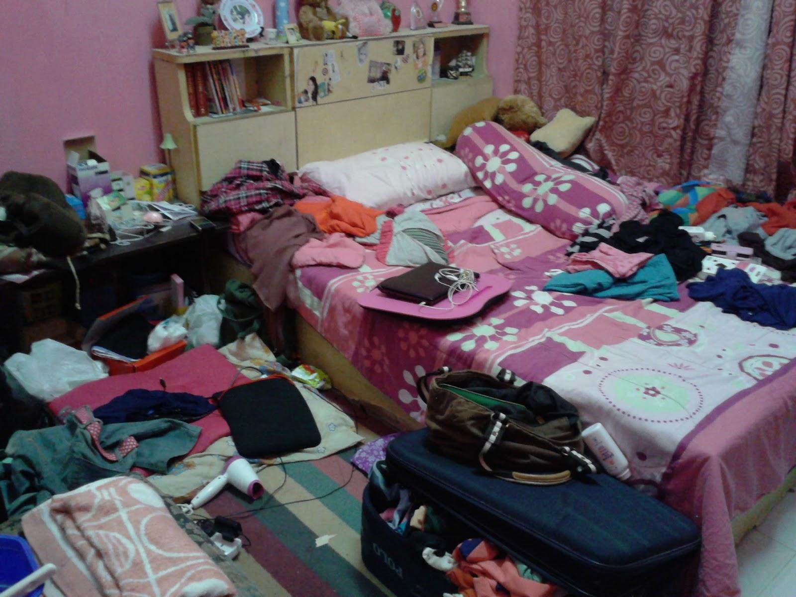 Image result for bilik tidur tak kemas