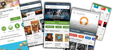Google Play Store Radically Updated : APK download available now