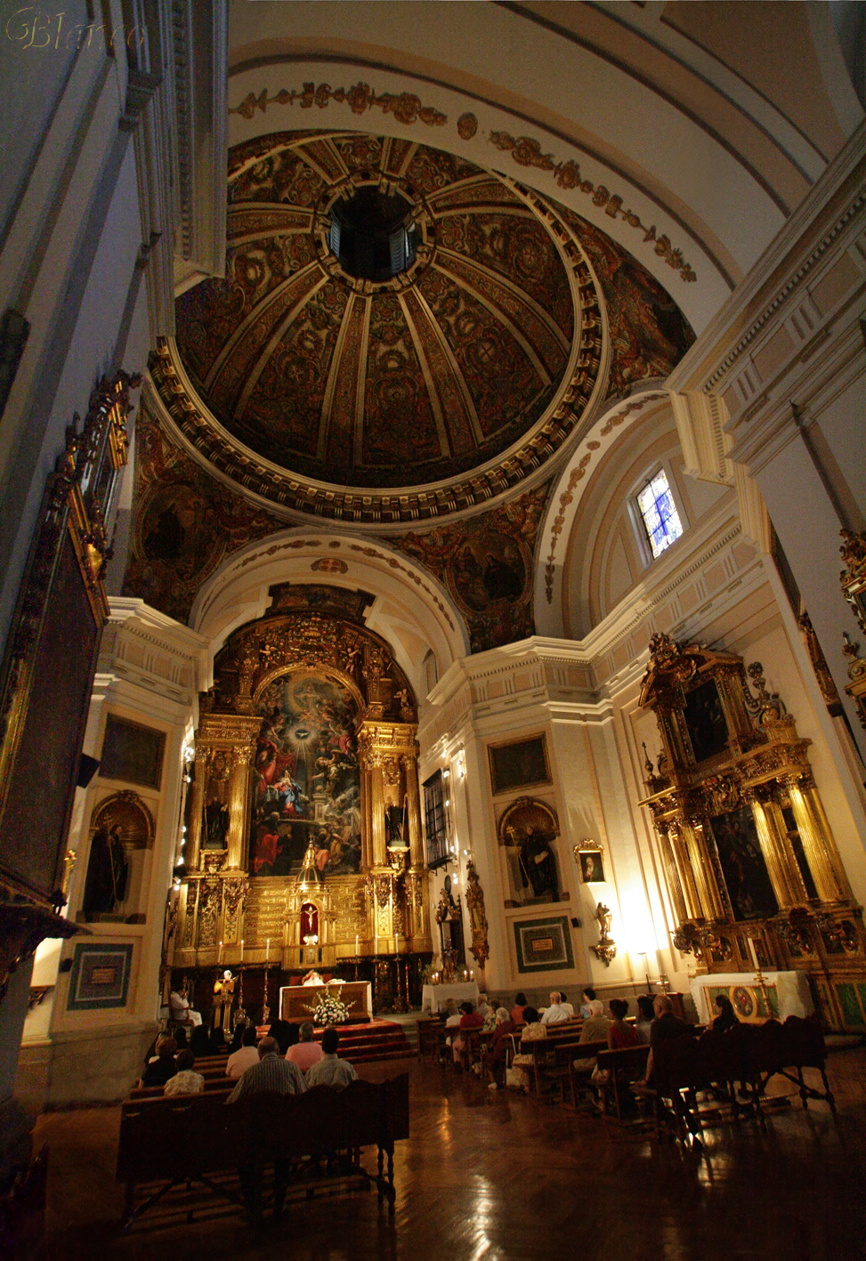 Madrid en foto monasterio de san pl cido benedictinas for Calle prado de la iglesia guadarrama