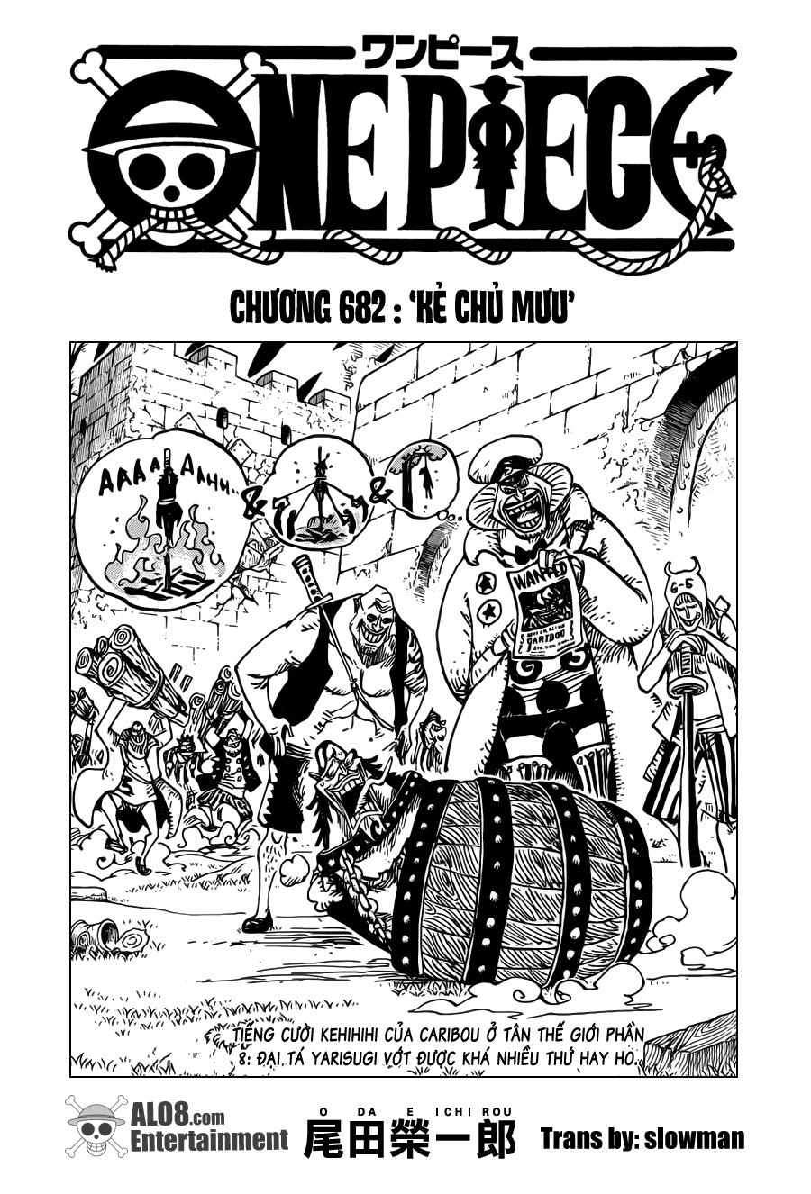 One Piece Chapter 682: Kẻ chủ mưu 001