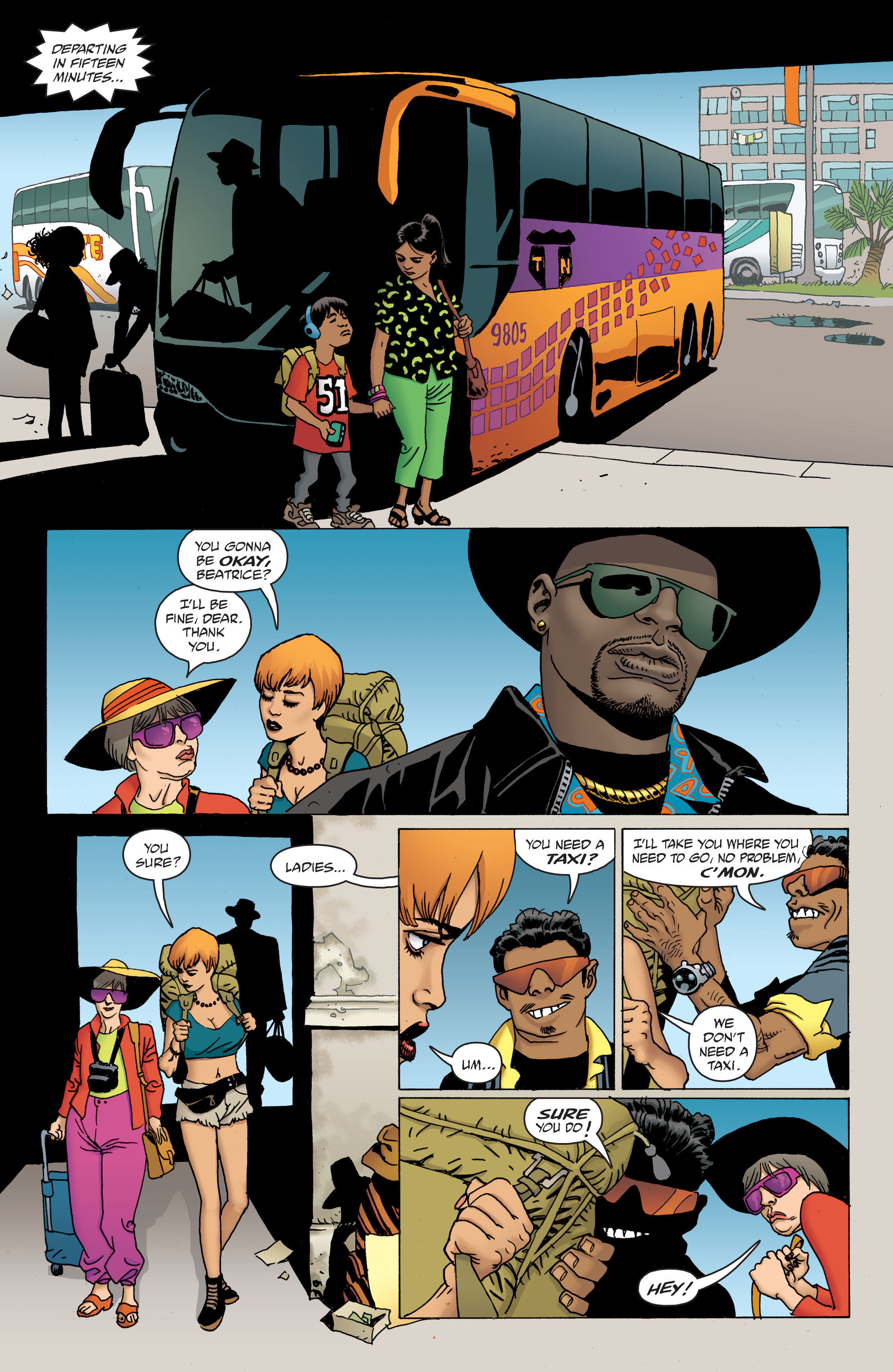 100 Bullets: Brother Lono Full Page 23