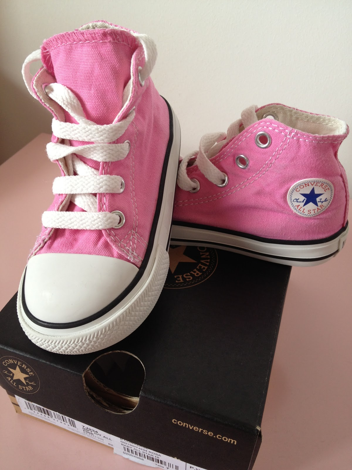converse all star niña rosa