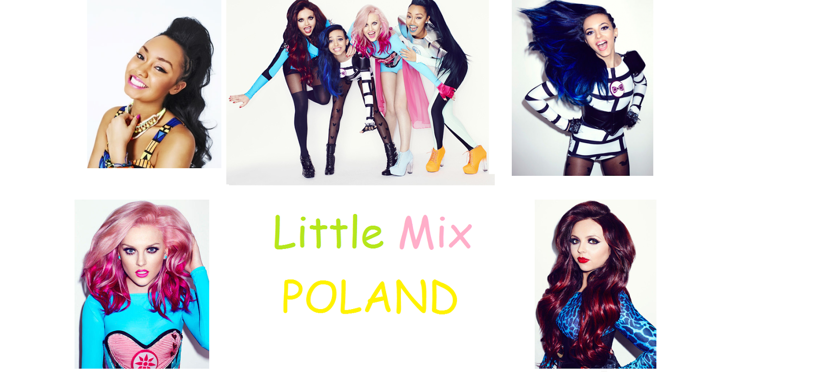 Oficjalny Polski blog o Little Mix