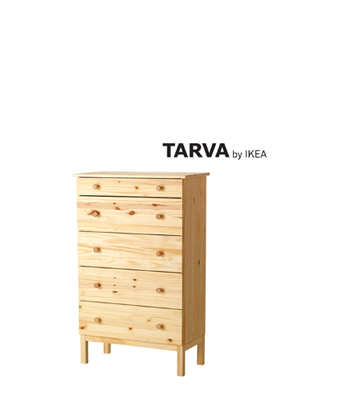 of IKEA furniture called TARVA straight from the box on the shelf a  major upcycling is about to happen from the contents of this piece of  furniture. 5 More Incredible IKEA HACKS   The Cottage Market