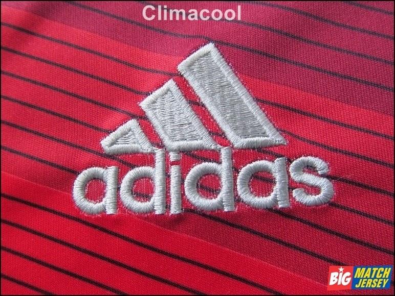 Logo Bordir Adidas Pada Jersey Climacool Fifa World Cup 2014