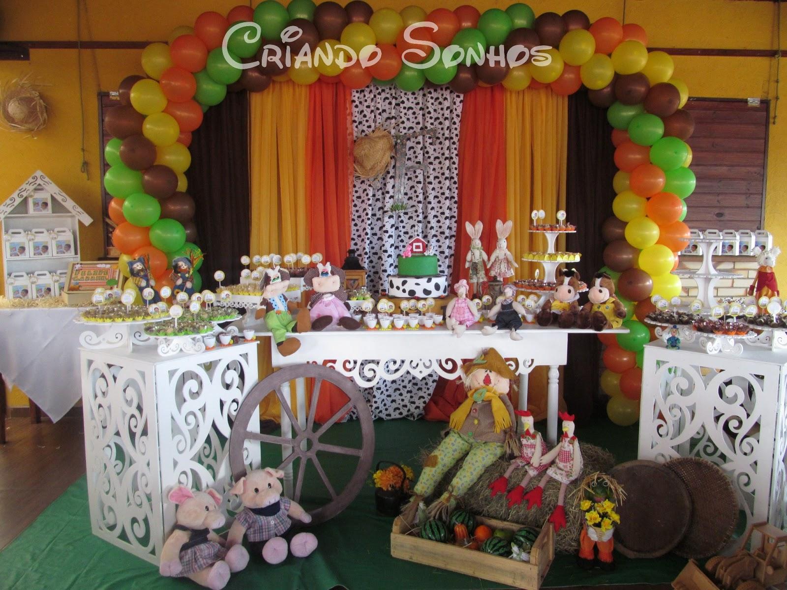 decoracao para festa infantil com tema de fazendinha : Tema Fazendinha Proven?al