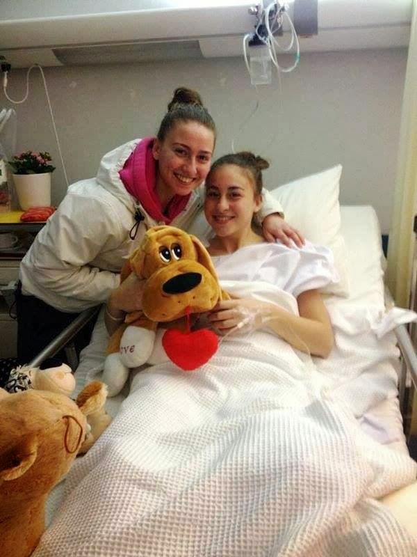 Πετυχημένη εγχείρηση πρόσθιου χιαστού στην Ευαγγελία Νάστου