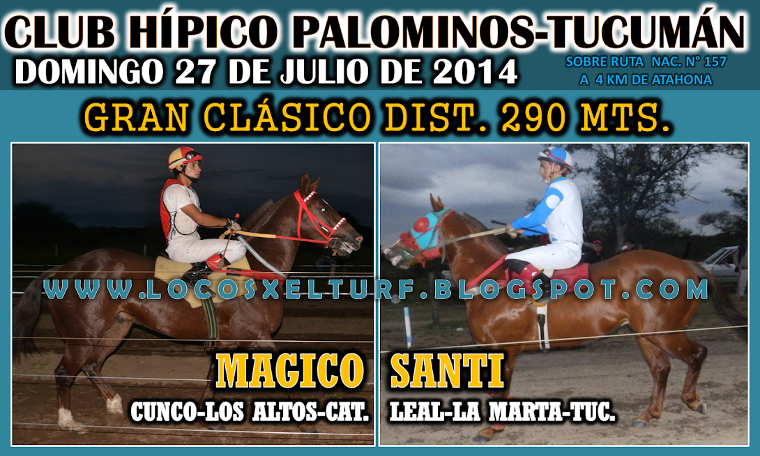 27-7-14-CLAS-HIP- PALOMINOS