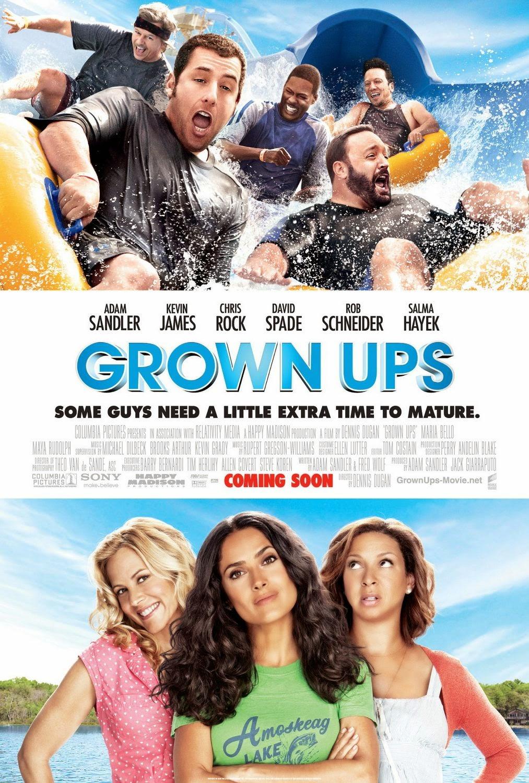 Grown Ups (2010) ταινιες online seires xrysoi greek subs