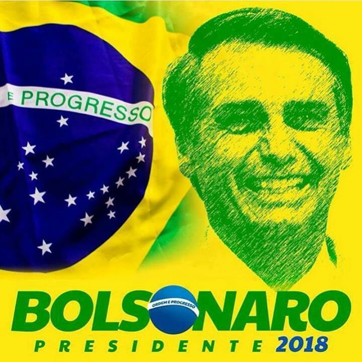 TEM MEU APOIO SOU #BOLSONARO2018