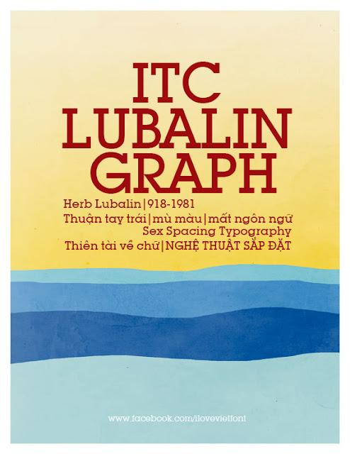 [Serif] VNF ITC Lubalin Graph Việt hóa