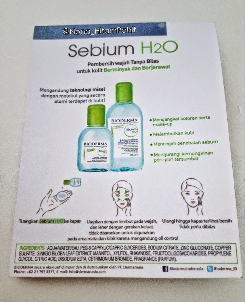 Bioderma Solution Micellaire, Bioderma Sensibio H2O