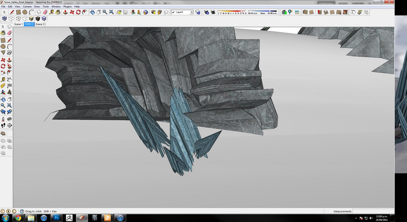 Jared haley digi design process sketchup to cryengine 3 for Cryengine 3 architecture
