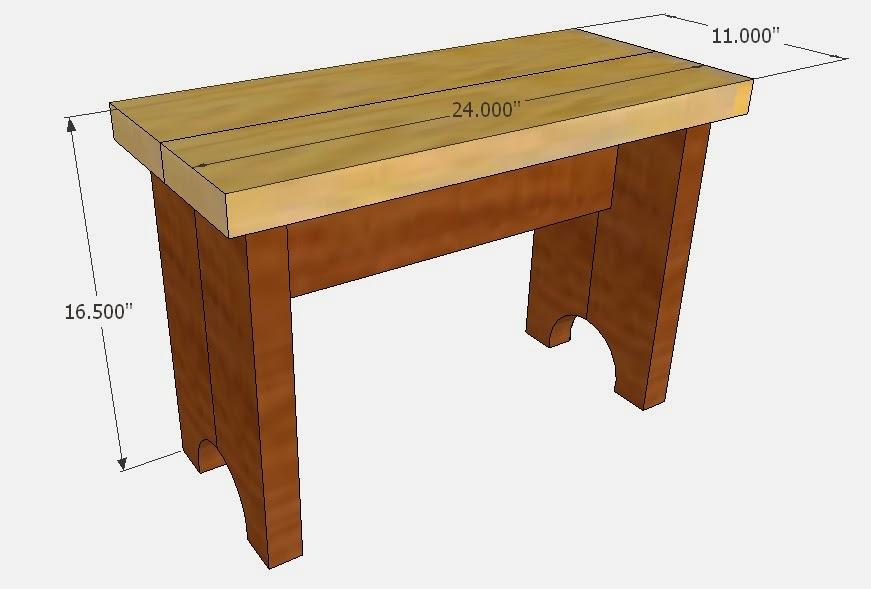 Simply easy diy diy mudroom bench for Mudroom bench depth
