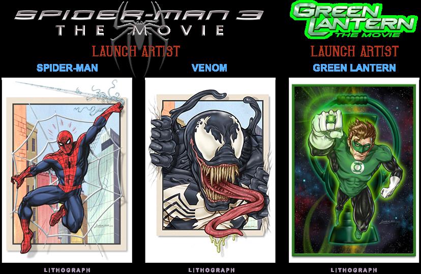 Spidey - Venom - Green Lantern