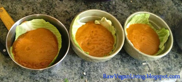 raw vegan chili bowls