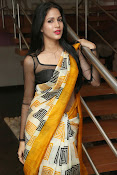 Lavanya Tripathi glam pics in saree-thumbnail-17