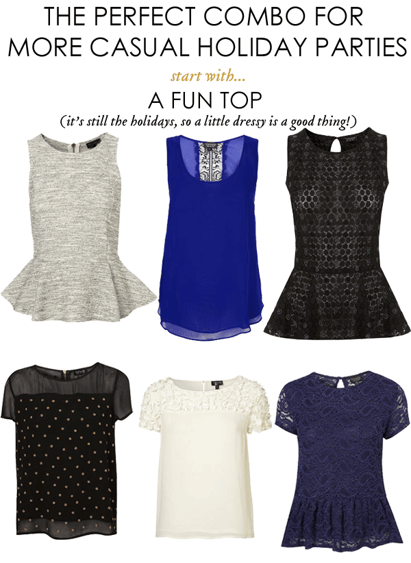 what to wear to a casual holiday party