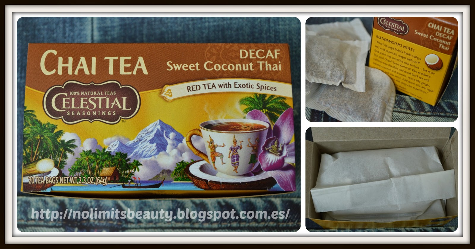 Sweet Coconut Thai Decaf Tea de Celestial Seasonings