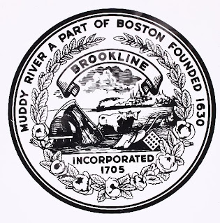 Town Seal of Brookline