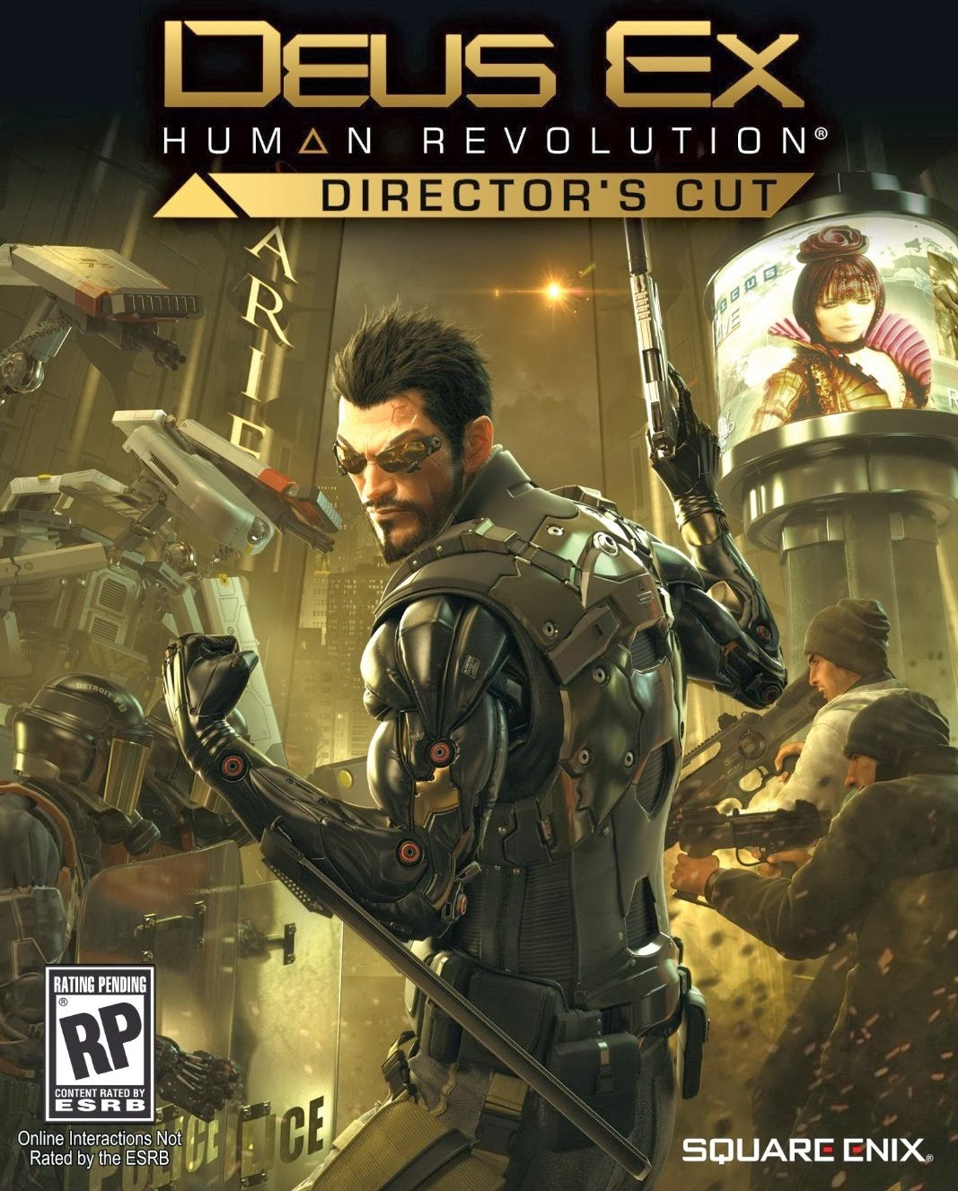 deus ex human revolution directors cut wallpapers - Deus Ex Human Revolution Director s Cut review