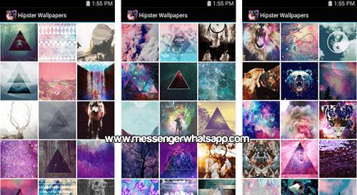 Nuevos fondos Hipster Wallpapers para WhatsApp