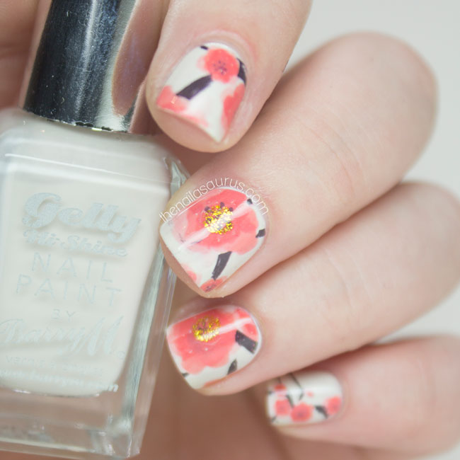 Poppy Water Decals