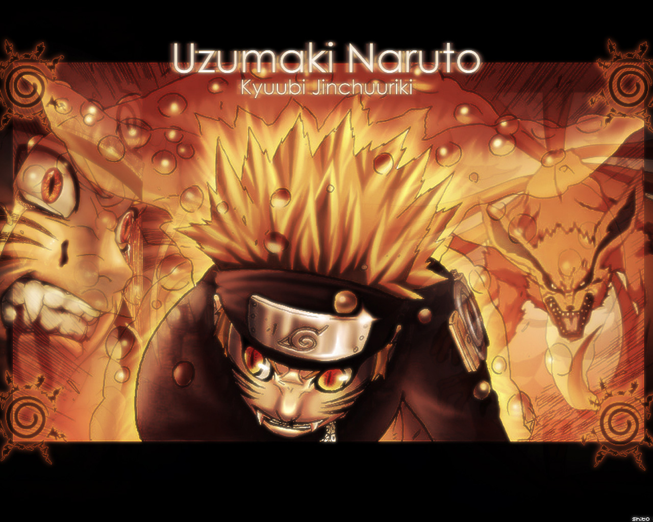 Naruto Uzumaki Nine-Tailed Fox