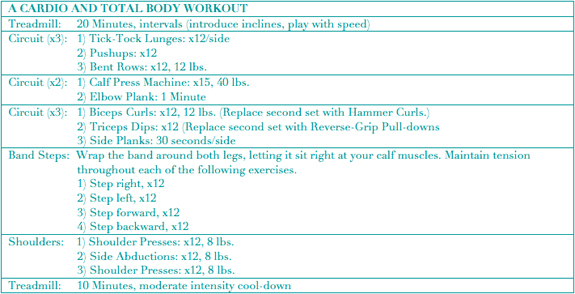 A Daily Dose Of Fit Workout Wednesday Cardio And Total Body
