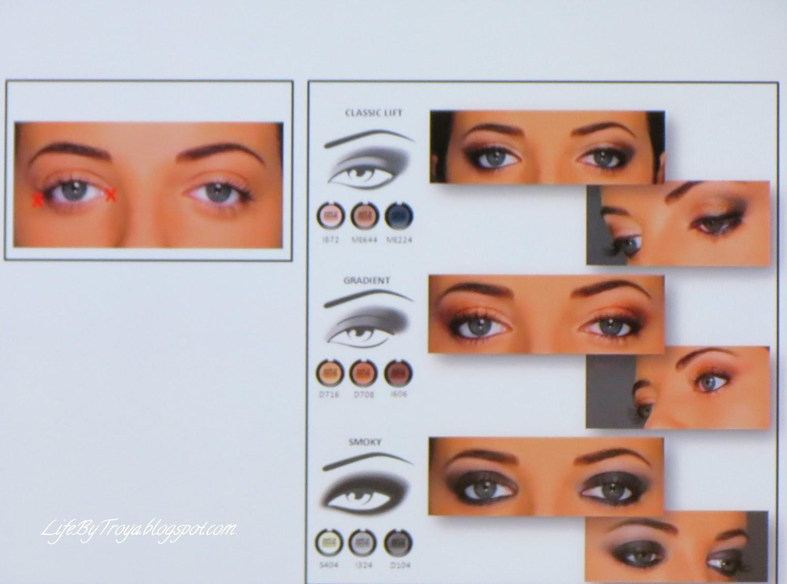 Макияж как приподнять уголки глаз фото