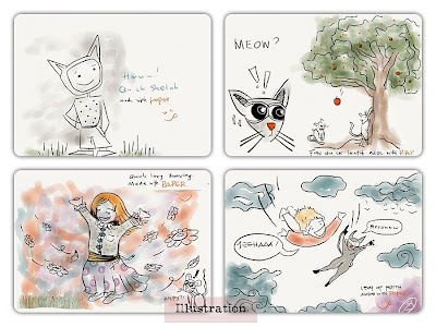 Madewithpaper illos