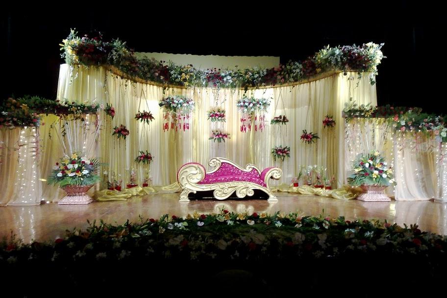 WNRPRECEPTIONSTAGE058 - Unique Wedding stage Decoration