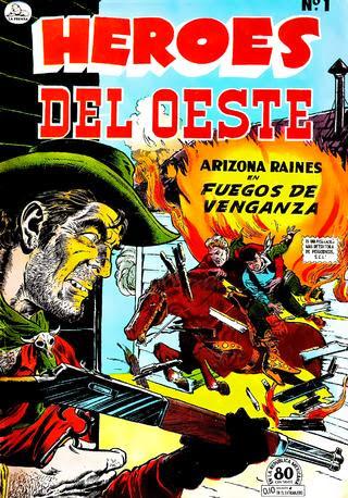 HEROES DEL OESTE Nº 001 1952