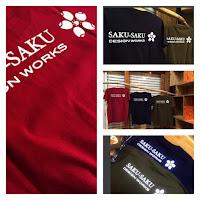 SAKU-SAKU Tシャツ