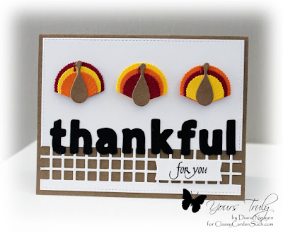 Diana Nguyen, Poppystamps, turkey, Lawn Fawn