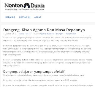 cara Indonesia bangkit hapuskan Situs Penghina Agama