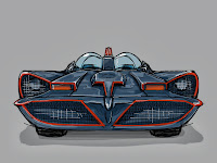 NOPAL Art: Batmobile sketch study