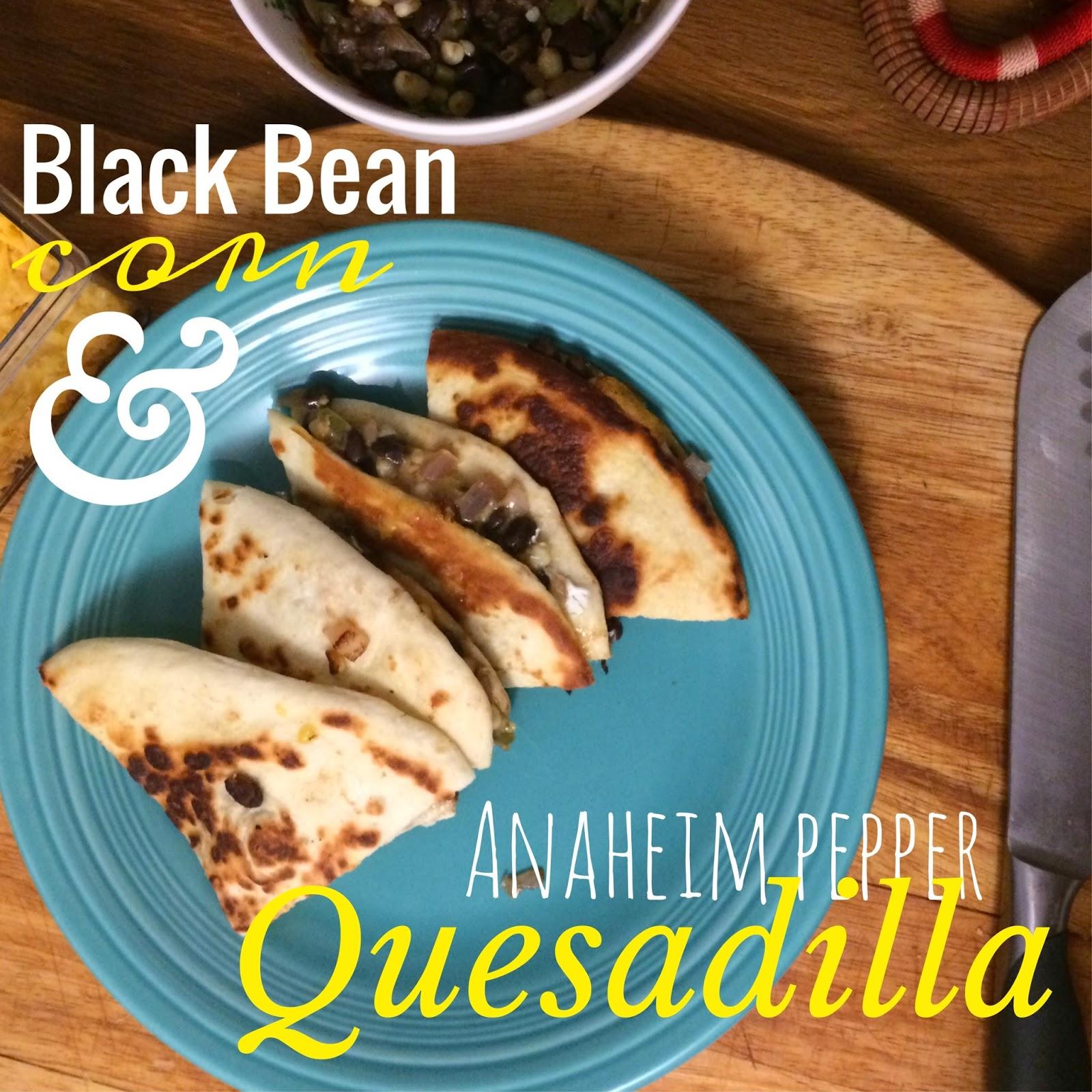 Black Bean Corn Quesadilla America S Test Kitchen