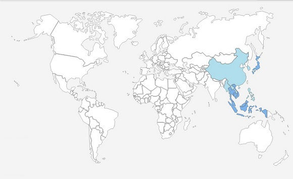 Peta Dunia TRAVELdonk