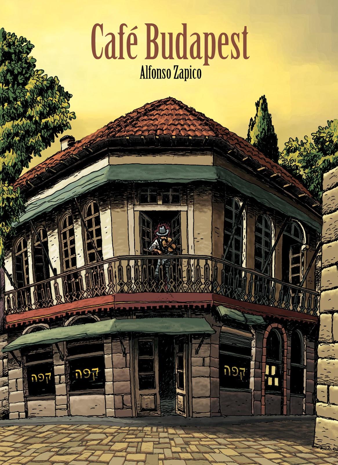 Café Budapest,Alfonso Zapico,Astiberri  tienda de comics en México distrito federal, venta de comics en México df