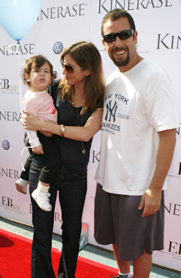 Adam Sandler With Wife Jackie Titone