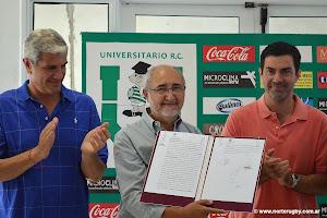 Andrés Zottos, Marcelo Correa y Juan Manuel Urtubey