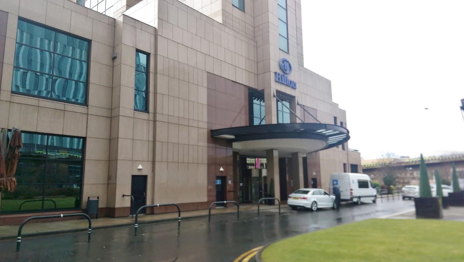 Hilton Glasgow Exterior