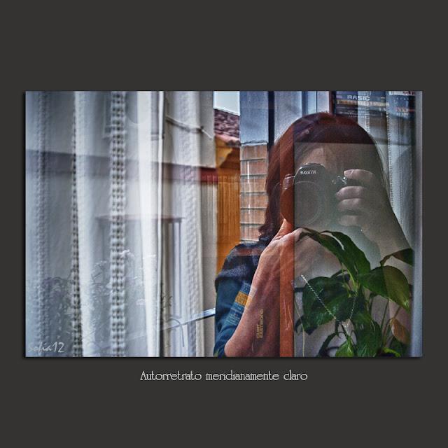 Reflejo en cristal y su transparencia