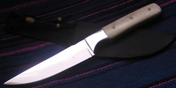 Bone Handled Birding Knife