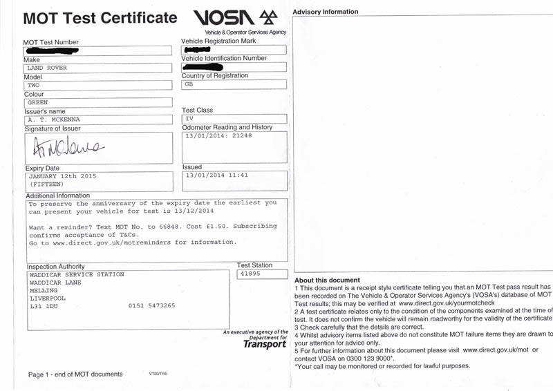 Mot Certificate Template Download Image Collections
