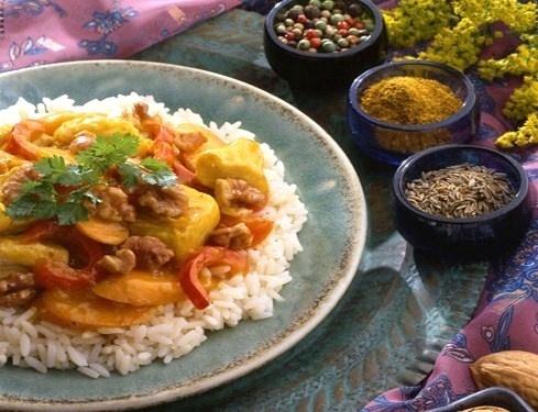 Cuisine en folie menu cr ole 2 me partie avec le cari poulet de l 39 ile de la r union - Recette de cuisine creole reunion ...
