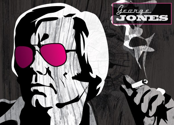 George Jones Rose Colored Glasses